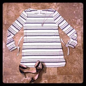 WHBM Striped Dress
